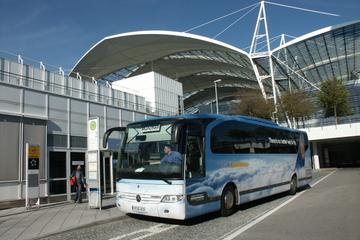 Traslado de chegada compartilhado: do Aeroporto de Munique à Estação...