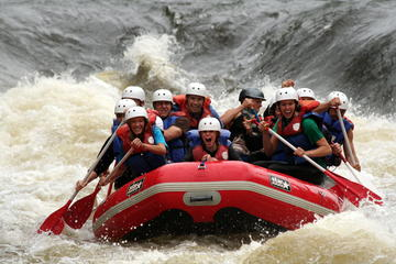 Day Trip White-water Rafting Adventure on the Menominee River near Green Bay, Wisconsin