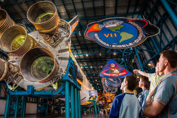 Dagstur til Kennedy Space Center med transport fra Orlando