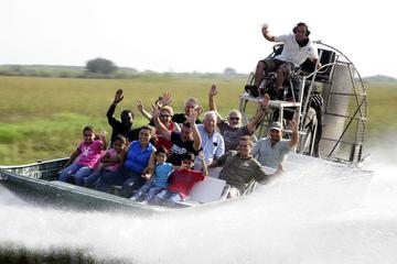 Kennedy Space Center en hovercraftsafari door de Everglades vanuit ...