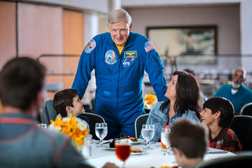 Book Kennedy Space Center Ultimate Experience: Dine with an Astronaut and Up-Close Tour with Transport from Orlando on Viator