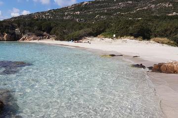 Sailboat daily cruise between North Sardinia Maddalena Archipelago and South Corsica