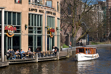 Hard Rock Cafe in Amsterdam