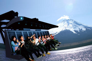 Tour in autobus di 1 giorno sul monte Fuji ed esperienza 4D con Fuji