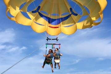 Book Parasailing Around Saint Pete Beach on Viator