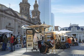 City tour de meio dia por Santiago
