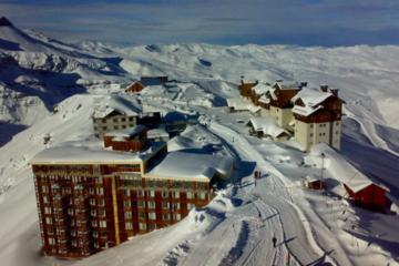 Excursión para grupos pequeños: Valle Nevado y Farellones desde...