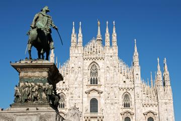 Halvdagssightseeing i Milano med besøk til Leonardo da Vincis...