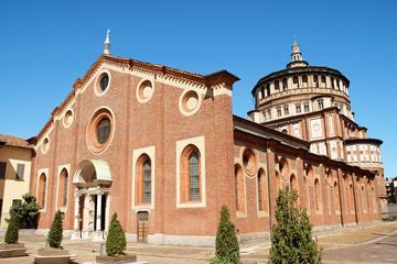 Saltafila: Tour a piedi di Milano Leonardo da Vinci, con biglietto