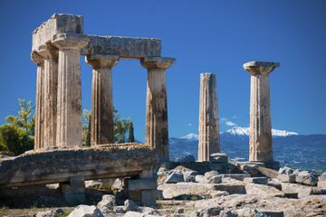 Excursão costeira por Atenas: excursão privada pela antiga Corinto