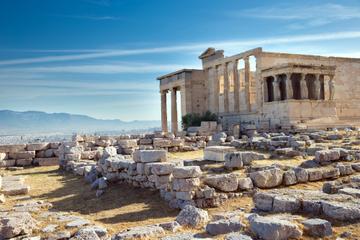 Excursão turística para grupos pequenos até a Acrópole e a cidade de...