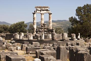 Visita por la noche a Delfos y Meteora con alojamiento desde Atenas...