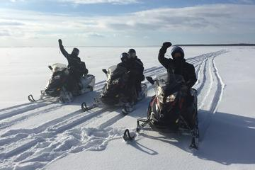 Day Trip Snowmobile Tour and Rental 1 hour from Montreal near Louiseville, Canada