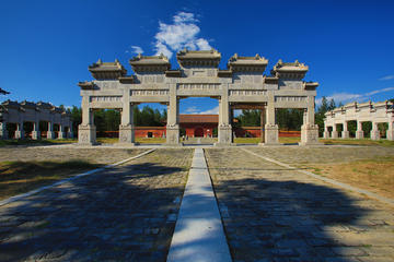 West Qing tomb tour with private car