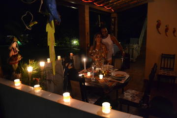 Sitio Manor Candlelight Dinner with Transport from Salvador