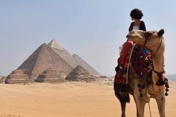 camel ride around Giza pyramids from Cairo or Giza hotel