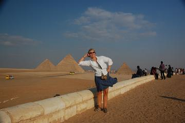 DAY TOURs TO GIZA PYRAMIDS SAKKARA MEMPHIS from Giza Cairo hotels