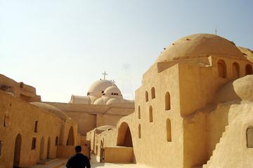 day tours to  wady Natron monastery 2 hour driving from Cairo