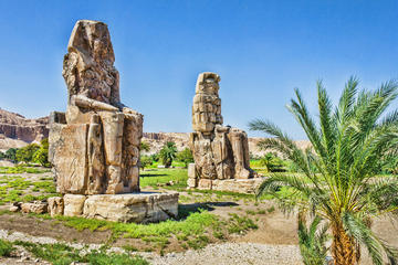private-full day valley of the king hatshpsut temple 2 colossal statue of Memnon in Luxor