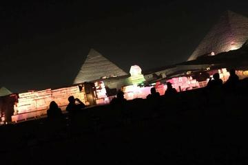 Sound Light Show On Pyramids  Daily Trip In Cairo