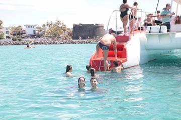 Segeltörn mit dem Katamaran auf Fuerteventura