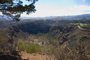 Trekking to the Caldera de Bandama in...