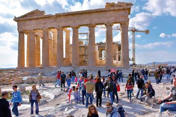Athens Old Town Small Group Walking Tour: Acropolis, Monastiraki and ...