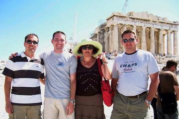 Excursão à Acrópole de Atenas