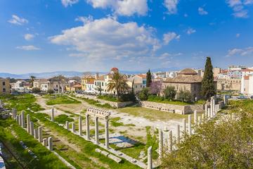 Recorrido privado a pie: Monumentos de la antigua Ágora, Plaka y...