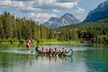 Banff National Park Voyageur Canoe...