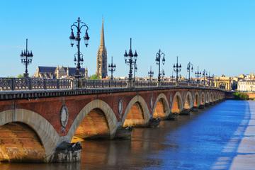 Spaziergang zu Besichtigungspunkten in der Stadt Bordeaux