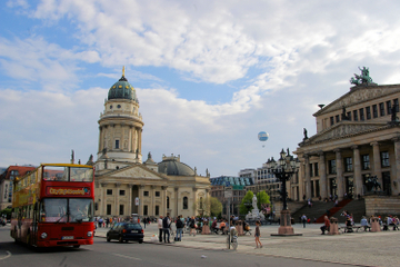 Circuit touristique en bus à arrêts multiples à Berlin