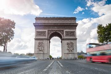 Circuit touristique en bus à arrêts multiples à Paris