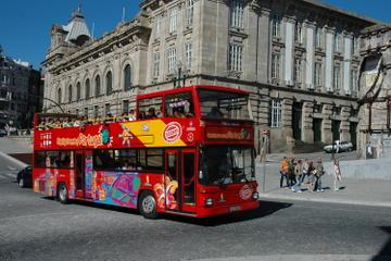 Circuit touristique en bus à arrêts multiples à Porto