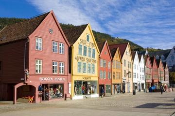 City Sightseeing i Bergen på hopp-på-hopp-av-tur