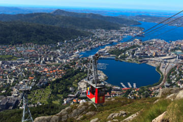 Escursione a terra a Bergen: Tour Hop-On Hop-Off con City Sightseeing