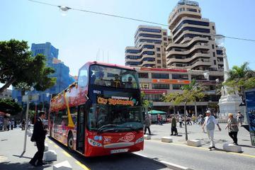Excursão terrestre por Tenerife: excursão em conversível pela cidade...