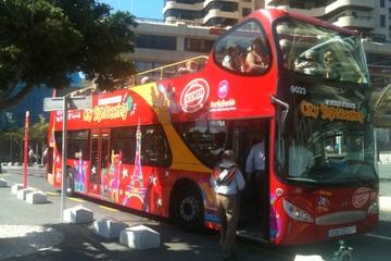 Excursão turística em ônibus panorâmico por Santa Cruz de Tenerife