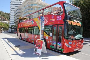 Excursão turística pela cidade de Málaga em ônibus panorâmico