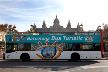 Hop-on-Hop-off-Bustour durch Barcelona