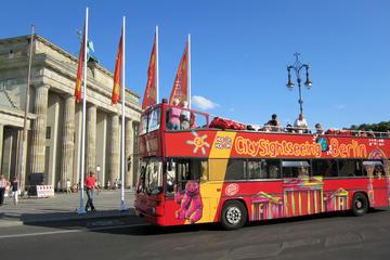 Ônibus panorâmico em Berlim com excursão entrada opcional em Aquadom...