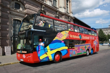 Recorrido turístico en autobús con paradas libres por la ciudad de...