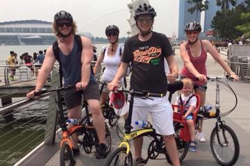 シンガポール サイクリング半日ツアー