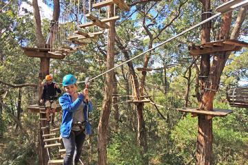 Mornington Peninsula Enchanted Adventure Garden Ziplining and Canopy Tour