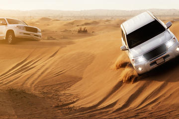 Safari dans le désert à Dubaï