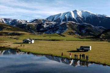 Full-Day Alpine Safari 4WD tour including TranzAlpine Train from...
