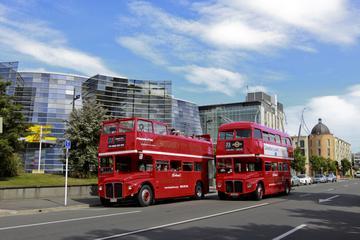 Tour turístico en Christchurch en clásico autobús de dos pisos