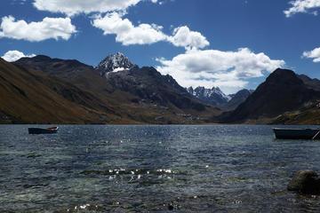 Querococha Lagoon and Chavin de...