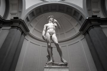 Uffizi e Accademia com excursão a pé e café da manhã