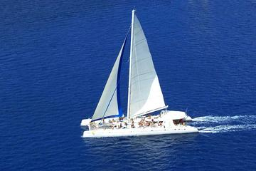 Excursión de un día en catamarán hasta Saona